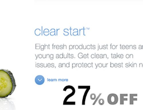 Save 27% on Body, Clear Start and Power Bright.