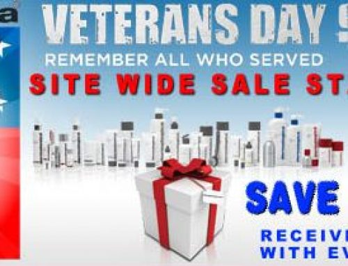 Weekly Sale! Veterans Day Site Wide Sale with a FREE gift